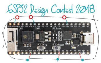 xtensa design contest esp32 design contest 2018 elektor magazine