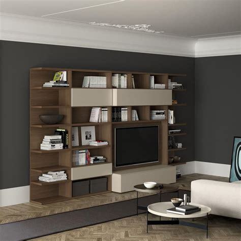 bookshelf with tv space 28 images wall units