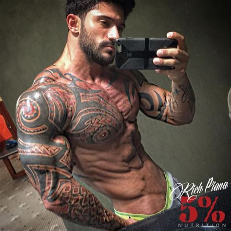 bodybuilding tattoos alex fitt with tattoos