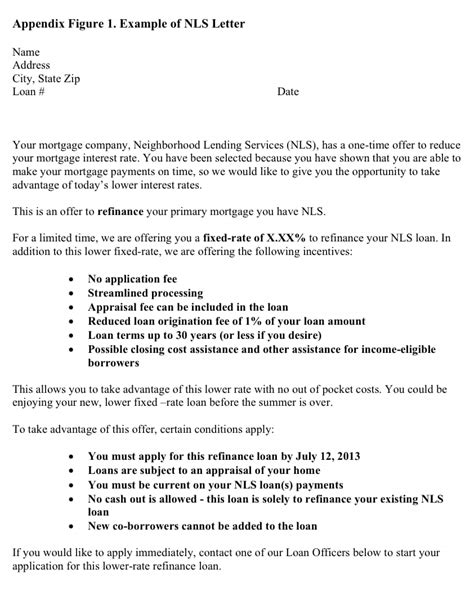 Letter Of Explanation For Mortgage Refinance letter of explanation for mortgage refinance 28 images