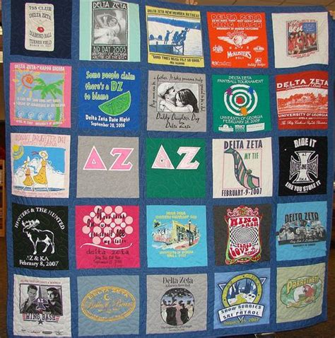 Sorority Quilt sorority t shirt quilt machine embroidery and sewing