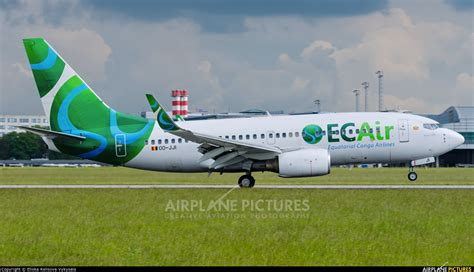 oo jji ec air equatorial congo airlines boeing 737 700 at prague v 225 clav havel photo id