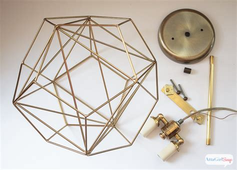 Diy Geometric Globe Pendant Light Atta Says