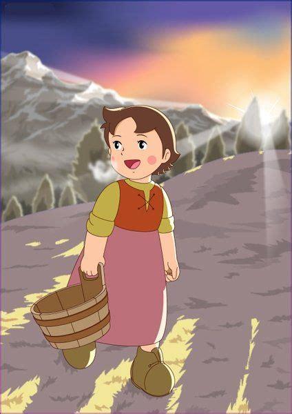 pin  mahender boddu  heidi girl   alps heidi cartoon  cartoons cartoon