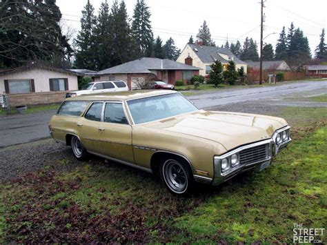 the peep 1970 buick estate station wagon