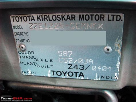 Vin Decoder Toyota Vin Corolla Pictures News Information From The Web