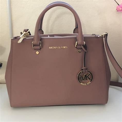 Mk Bag 14 michael michael kors handbags new dusty color med sutton handbag mk from top