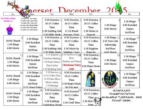 Calendar Washington And Senior Calendar Longview Wa Assisted Living Longview Wa