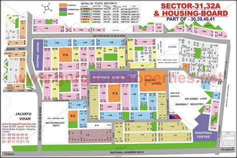 layout plan sector 52 gurgaon sector 31 32a gurgaon map sector 31 32a gurgaon city