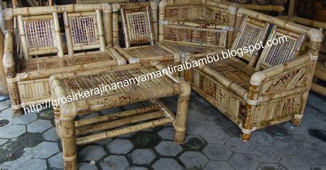 Kursi Tamu Di Pondok Bambu kursi sudut kst jual kerajinan bambu kerajinan bambu