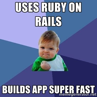 Ruby On Rails Meme - ruby on rails meme 28 images turbogears petite mise en