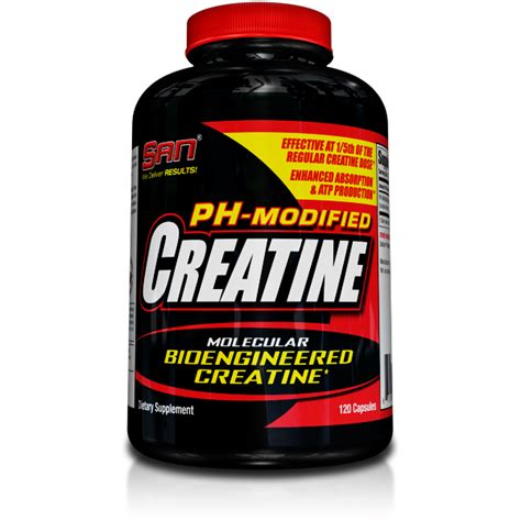 creatine no water retention ph modified creatine san nutrition