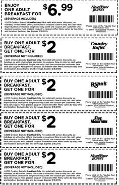 Hometown Buffet Gift Card 2016 - pinned july 3rd 2 kids 5 breakfast 6 lunch more at old country buffet coupon