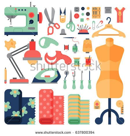 fashion design art kit thread supplies hobby accessories sewing equipment stock