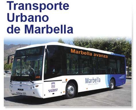 imágenes autobuses urbanos marbella
