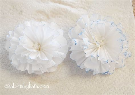 tutorial crepe paper flower crepe paper flower tutorial 033 creations by kara