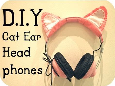 Cat Ear Headphone Headseat Bentuk Telinga Kucing kanubeea hair clip headphone unik dengan aksen telinga kucing