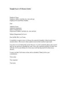 personal leave letter format best template collection
