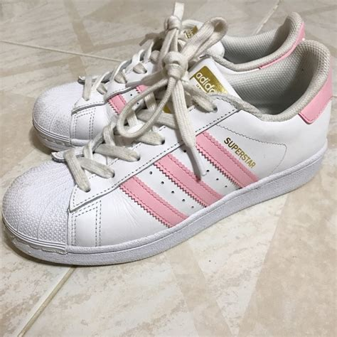 adidas baby pink adidas superstar size 7 from s closet on poshmark