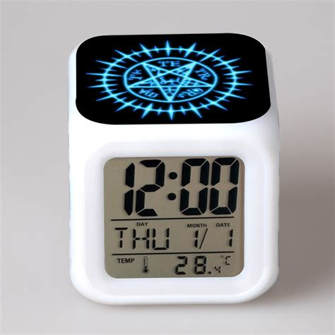 alarm clock color change animation birthday gift for light animated gift