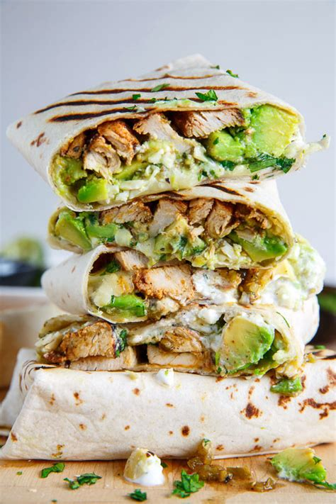 Todays Special Chicken And Goat Cheese Burritos by Chicken And Avocado Burritos Recipe On Closet Cooking