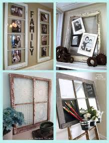 ideas for old windows home decorating diy