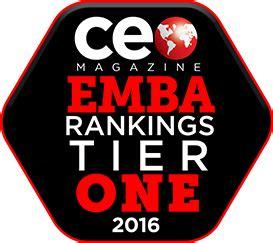 Rit Mba Program Ranking by Rankings Saunders Executive Programs Rit