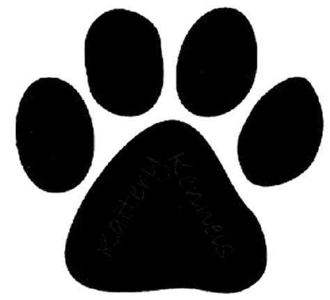 pictures of paws paw prints pictures clipart best