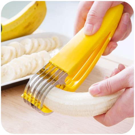 Banana Cutter high quality blade slicer emperorship fruit knife creative