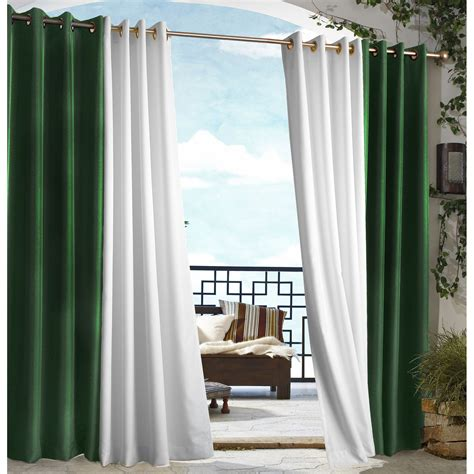 outdoor grommet curtains outdoor decor gazebo grommet outdoor curtain panel