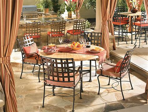 wrought iron patio furniture sets orange county ca outd on