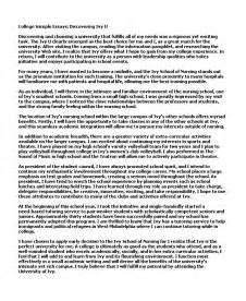 Collage Essay Exles exles of college essays