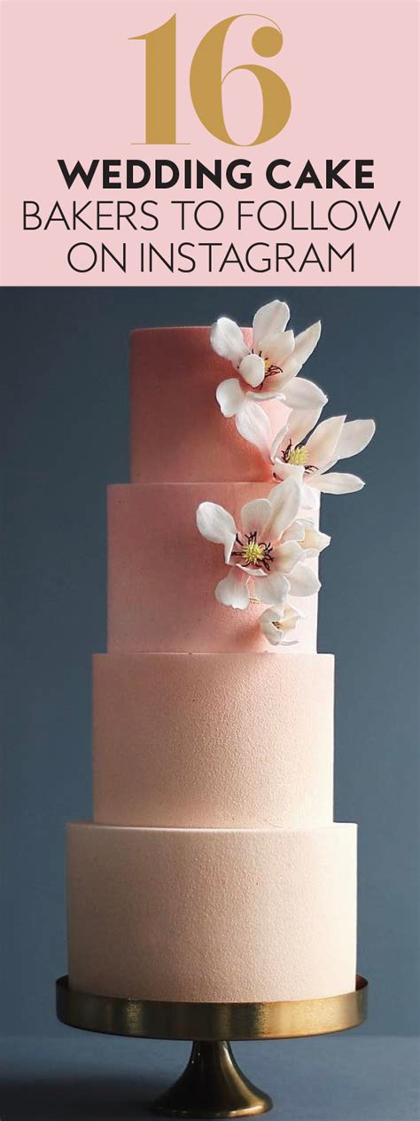 Search Instagram Account By Email Wedding Cake Instagram Accounts To Follow Instyle