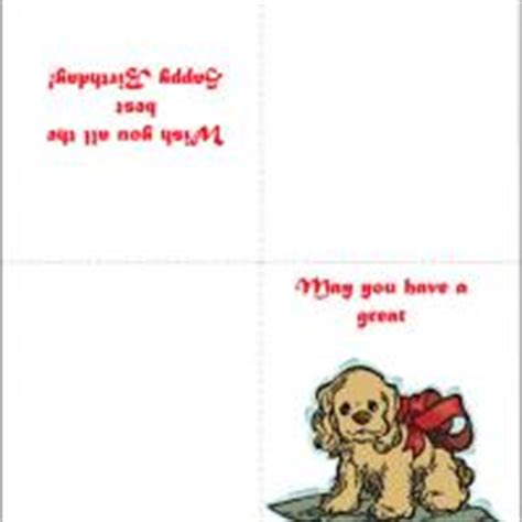 printable birthday cards dogs cute puppy birthday card