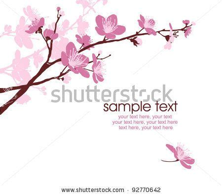 cherry blossom tree card template 48 best images about cherry blossom branches on