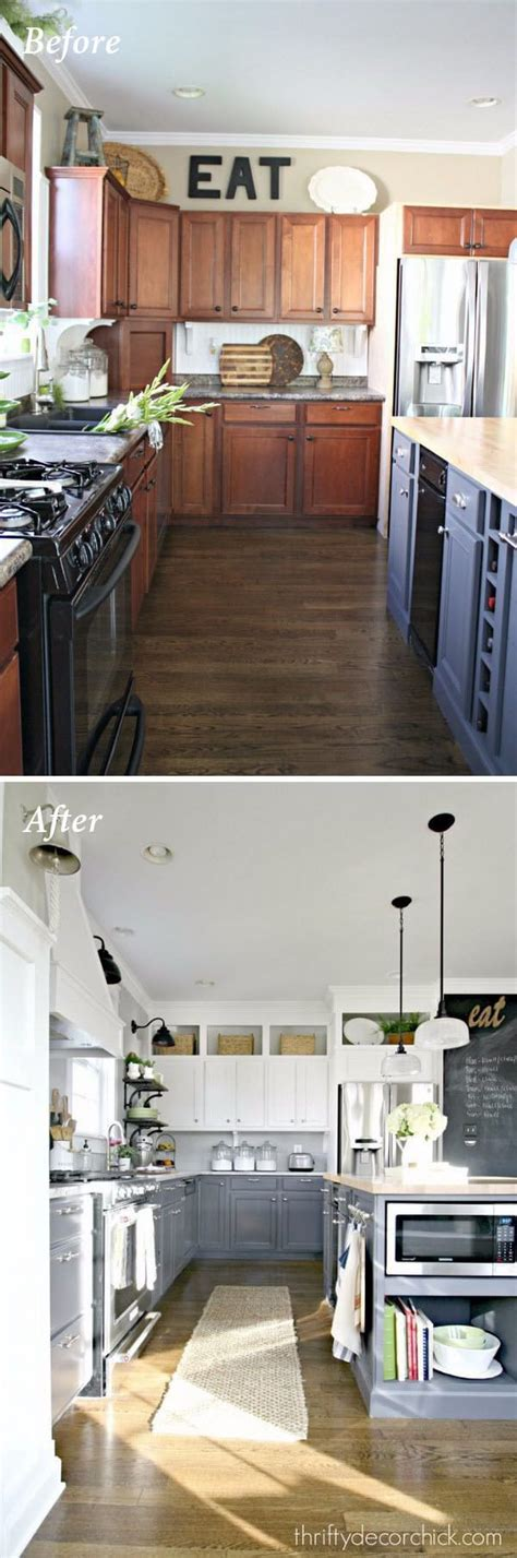 budget friendly kitchen makeovers ideas and instructions 25 amazing before and after budget friendly kitchen