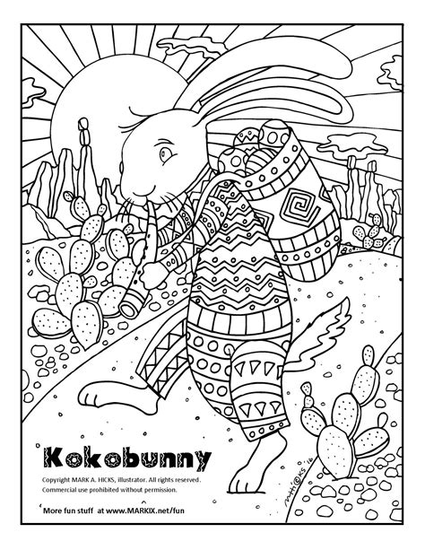 coloring pages for adults bunny kokobunny coloring page