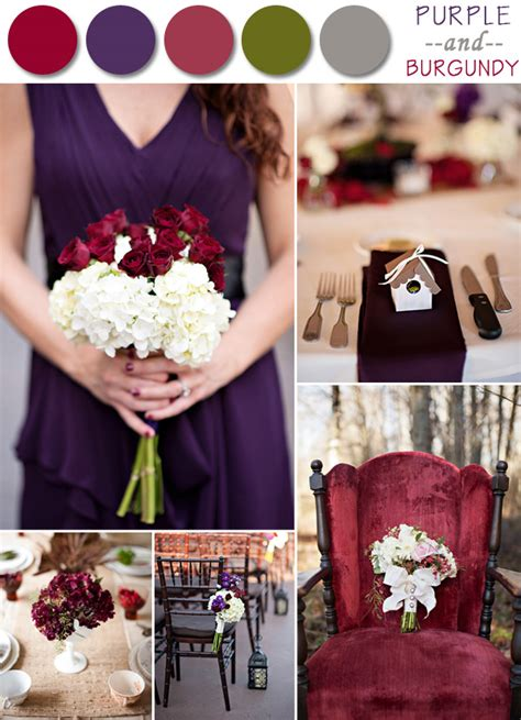 fall wedding color palette ideas 2014 trends