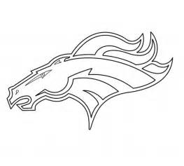 what color are the broncos broncos coloring pages denver broncos logo coloring page