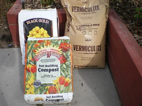 Square Foot Gardening Soil Mix by Square Foot Garden Soil Mix The Wealthy Earth