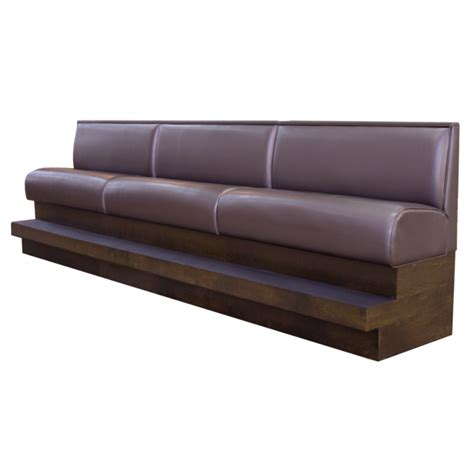 bar height plain inside back banquette priced per foot