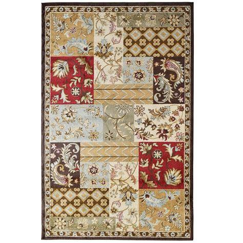 7 ft rug lanart rug patchwork 7 ft 8 in x 10 ft area rug