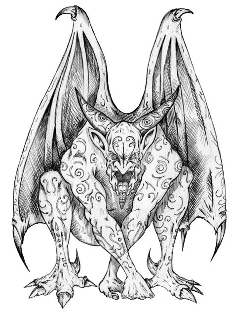 tattoo stencils designs gargoyle tattoos designs ideas and meaning tattoos for you