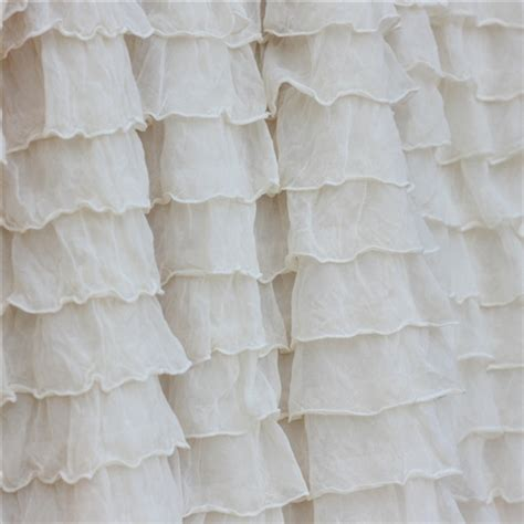 rufflish white 2 ivory 2 inch ruffle fabric