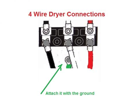 4 prong dryer outlet wiring diagram get free image about