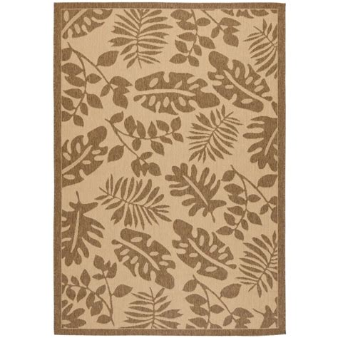 martha stewart living rugs martha stewart living paradise brown 8 ft x 11 ft 2 in area rug msr4260 12 8 the home