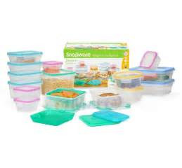 snapware 34 bpa free airtight food containers set