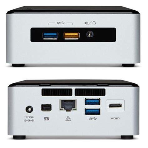 Intel Nuc I3 Kaby Lake 120gb Ssd 8gb Ddr4 Nuc7i3bnh 8s120 Dos intel nuc desktop htpc 5th generation intel dual i3 2 10ghz 8gb ram 120gb ssd wifi
