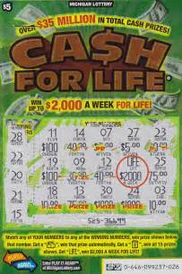 Year old michigan lottery player wins 2 000 a week with cash for life