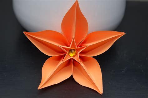 Fleur Origami - origami fleur de lotus bijoux par claires sur picture